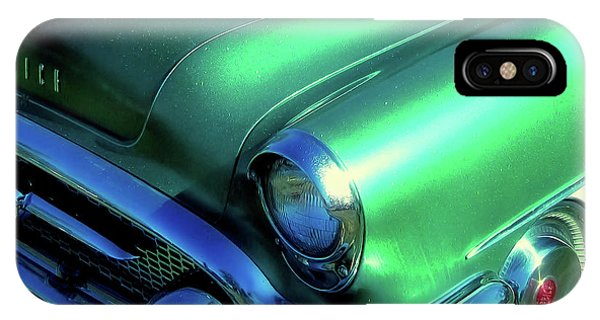 Green 1955 Buick Special IPhone Case
