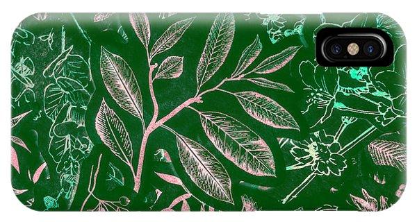 Garden Wall iPhone Case - Green Composition by Jorgo Photography - Wall Art Gallery