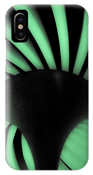 Green Fan Ceiling IPhone Case