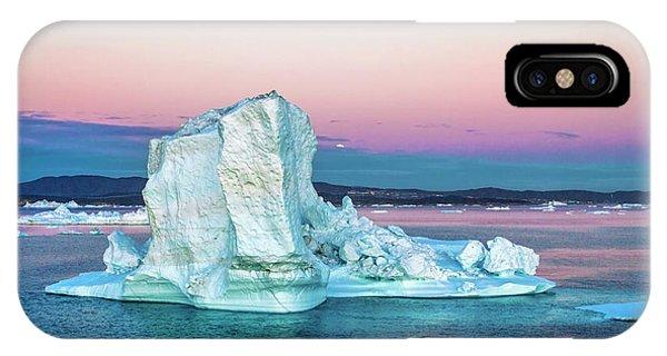 Glacier Bay iPhone Case - Greenland, Discovery Bay, (disko Bay by Miva Stock