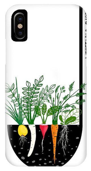 Ingredient iPhone Case - Grow Vegetable Garden And Cook Soup by Popmarleo