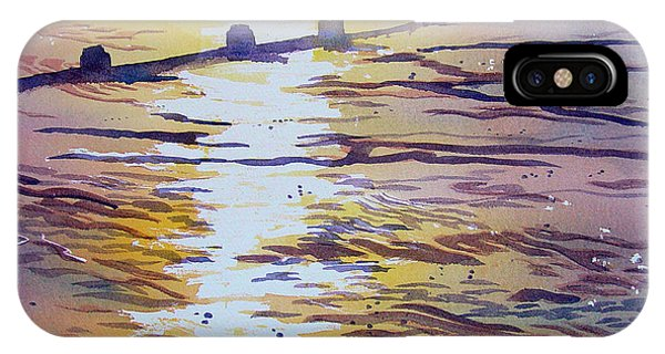 Groynes And Glare IPhone Case