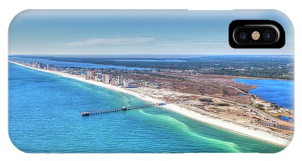 Gsp Pier And Beach IPhone Case