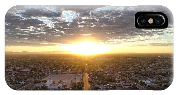 Guadalupe Sunset IPhone Case