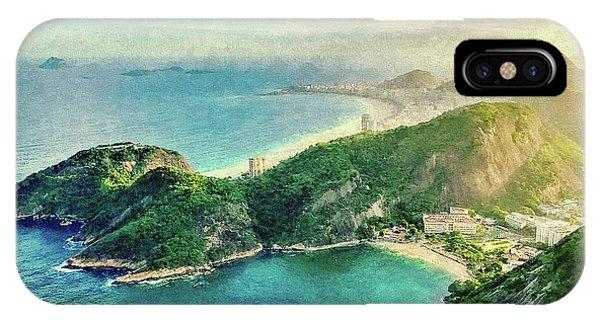 Guanabara Bay IPhone Case