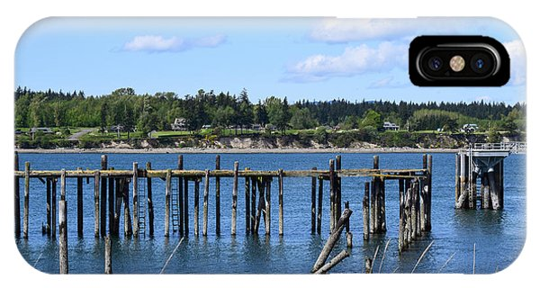 Guemes Island And Old Pier IPhone Case
