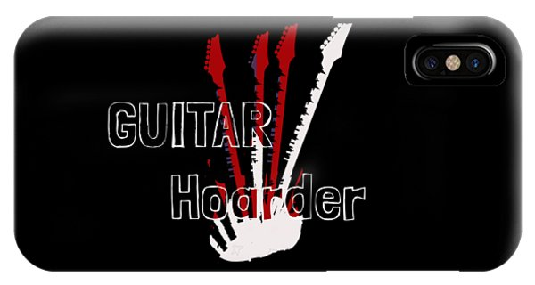 Guitar Hoarder IPhone Case