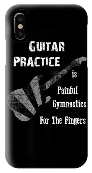 Guitar Practice Is Painful IPhone Case