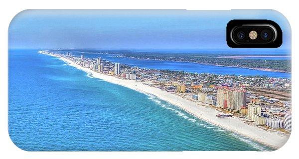 Gulf Shores Beaches 1335 Tonemapped IPhone Case