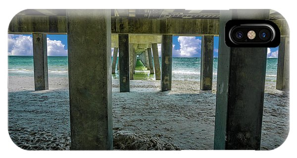 Gulf Shores Park And Pier Al 1649b IPhone Case