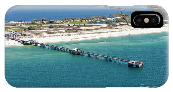Gulf State Park Pier 7464n IPhone Case