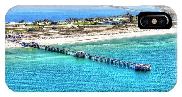 Gulf State Park Pier 7464p3 IPhone Case