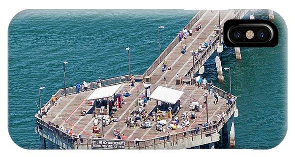 Gulf State Park Pier 7467 IPhone Case