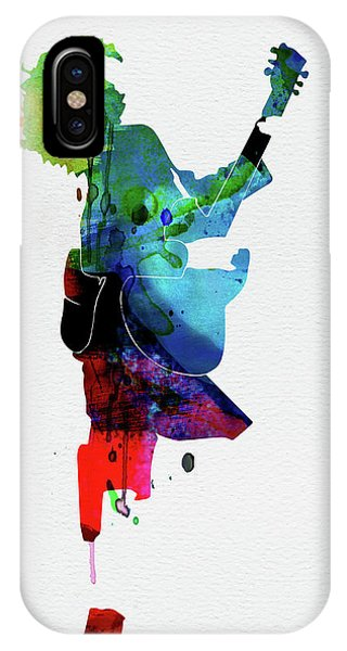 Floral iPhone Case - Guns Watercolor by Naxart Studio