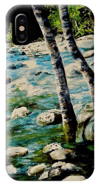 Gushing Waters IPhone Case
