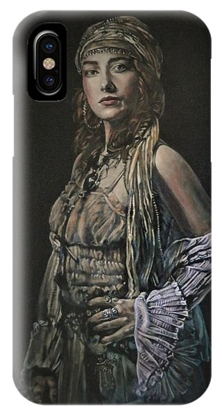 Gypsy Portrait IPhone Case