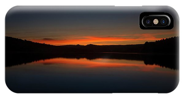 Sunset In The Reservoir IPhone Case