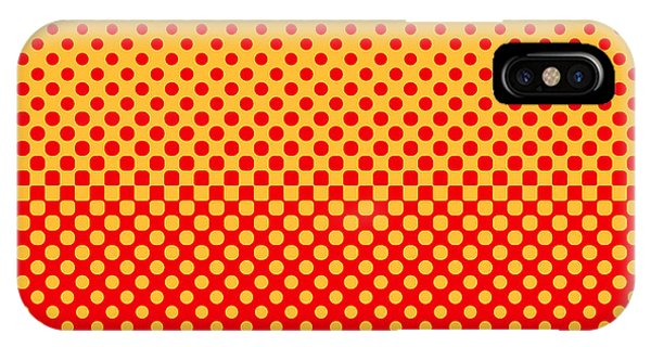 Imagery iPhone Case - Halftone Vector Illustration by Murat Baysan