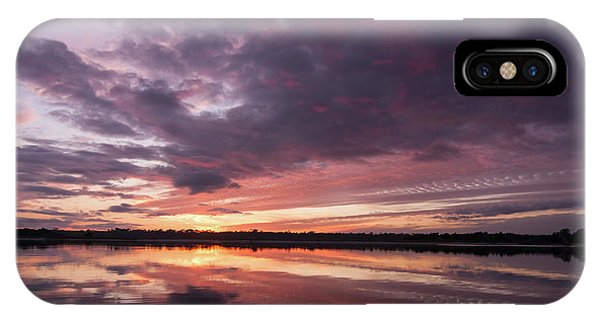 Halifax River Sunset IPhone Case