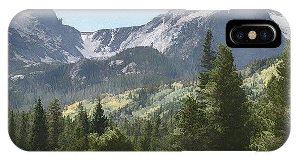 Hallett Peak Colorado IPhone Case