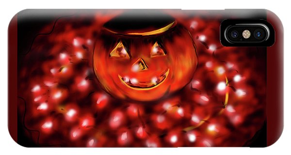 Halloween Lights IPhone Case