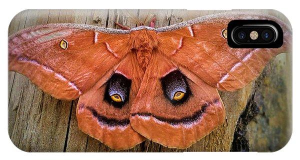 Halloween Moth IPhone Case