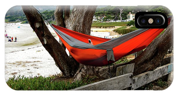 Hammock By The Sea IPhone Case