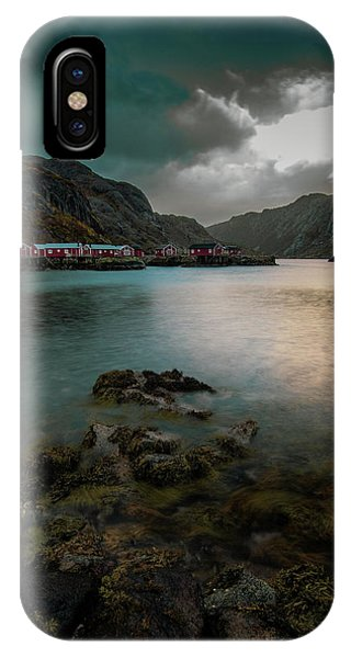 Hamnoy, Lofoten Islands IPhone Case