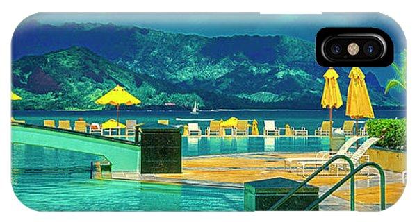 IPhone Case featuring the photograph Hanalei Bay Bali Hai Hawaii by Tom Jelen