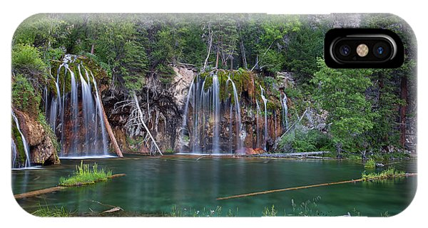 Hanging Lake Colorado IPhone Case