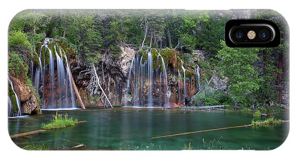 IPhone Case featuring the photograph Hanging Lake Colorado by Nathan Bush