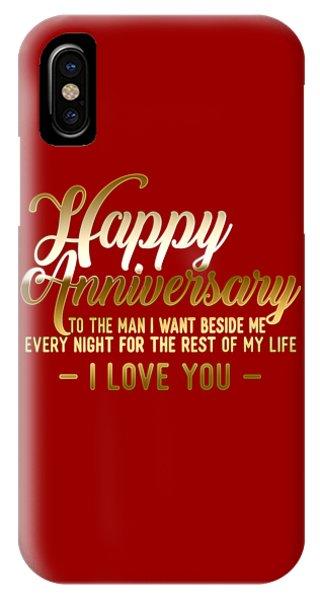 Happy Anniversary IPhone Case