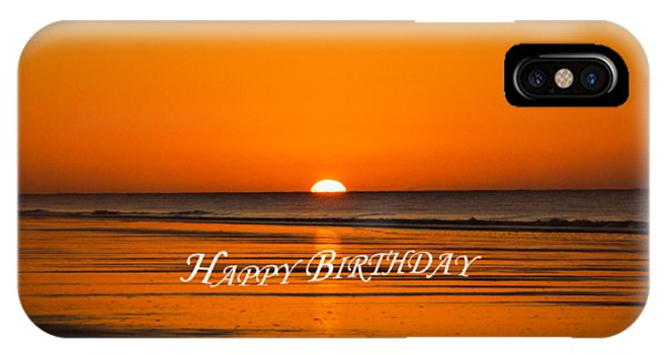 iPhone Case - Happy Birthday At The Beach by Cynthia Leaphart