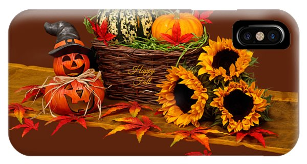 iPhone Case - Happy Fall by Cynthia Leaphart