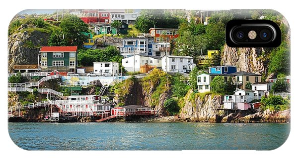 Primary Colors iPhone Case - Harbour Front Village In St. Johns by Justek16