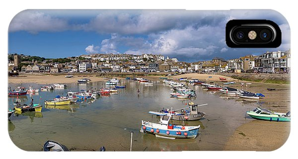 Harbour - St Ives Cornwall IPhone Case
