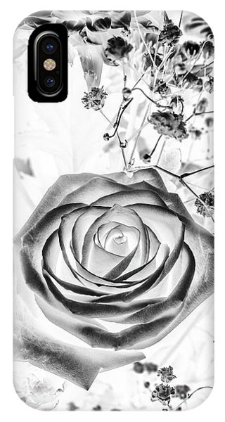 Garden Wall iPhone Case - Harmonics Inverted by Jorgo Photography - Wall Art Gallery
