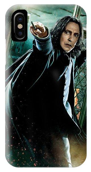 Snape iPhone Case - Harry Potter Severus Snape by Geek N Rock