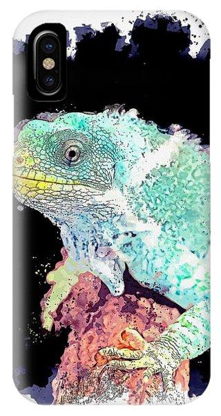 Far North Queensland iPhone Case - Hartley's Crocodile Adventures, Wangetti, Australia -  Watercolor By Adam Asar by Adam Asar