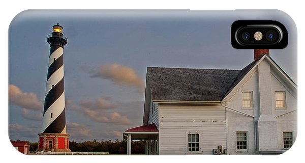 Hatteras Lighthouse No. 3 IPhone Case