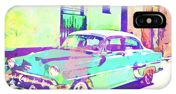 iPhone Case - Havana, Cuba - Classic In Abstract by Chris Andruskiewicz