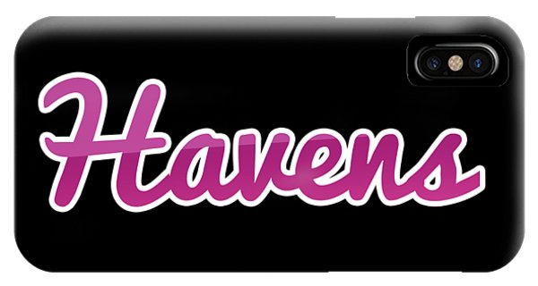 Haven iPhone Case - Havens #havens by TintoDesigns