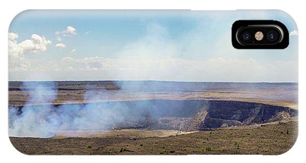 Hawaii Hale Ma'uma'u Volcano Crater IPhone Case