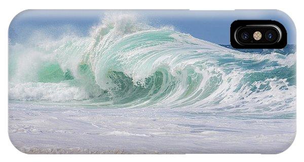 Hawaiian Shorebreak IPhone Case