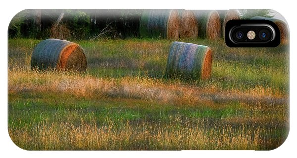 Hay Bales IPhone Case