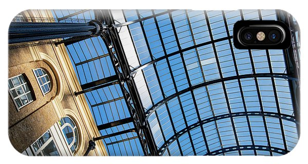 Window Shopping iPhone Case - Hays Galleria Abstract by Tim Gainey