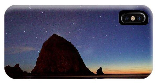 Haystack Night Sky IPhone Case