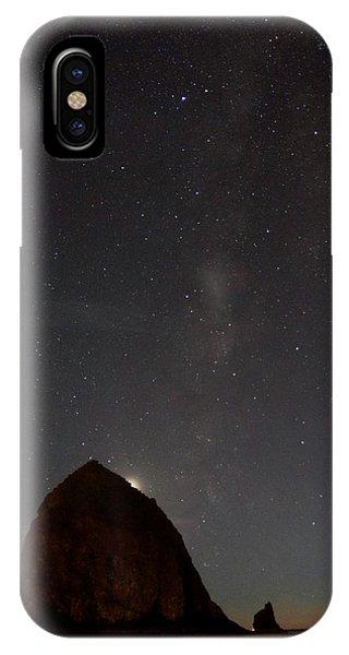 Haystack Night Under The Stars IPhone Case