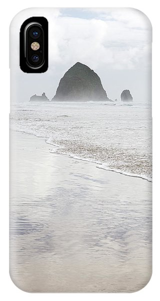 IPhone Case featuring the photograph Haystack Rock by Tim Newton