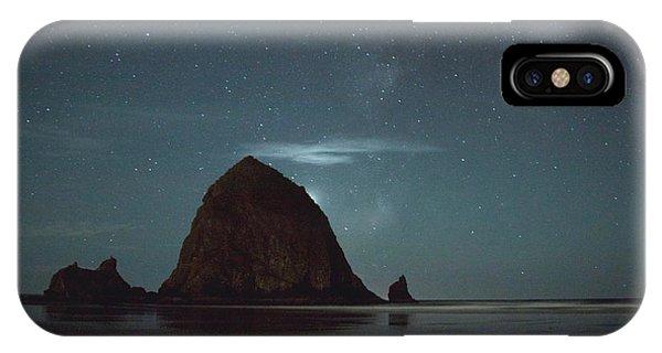 Haystack Under The Stars IPhone Case